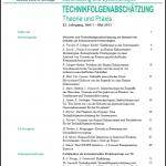 Visionen und Technikfolgenabschätzung am Beispiel der Debatte um Enhancement-Technologien