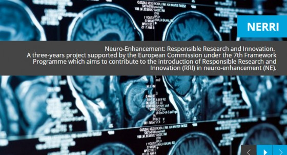 Neuro-Enhancement: Responsible Research and Innovation.  A three-years project supported by the European Commission under the 7th Framework Programme which aims to contribute to the introduction of Responsible Research and Innovation (RRI) in neuro-enhancement (NE).